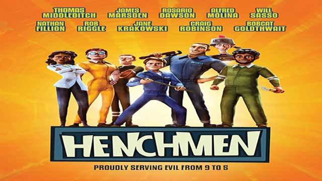 انیمیشن هنچمن (خانواده تبهکاران)-دوبله- Henchmen 2018