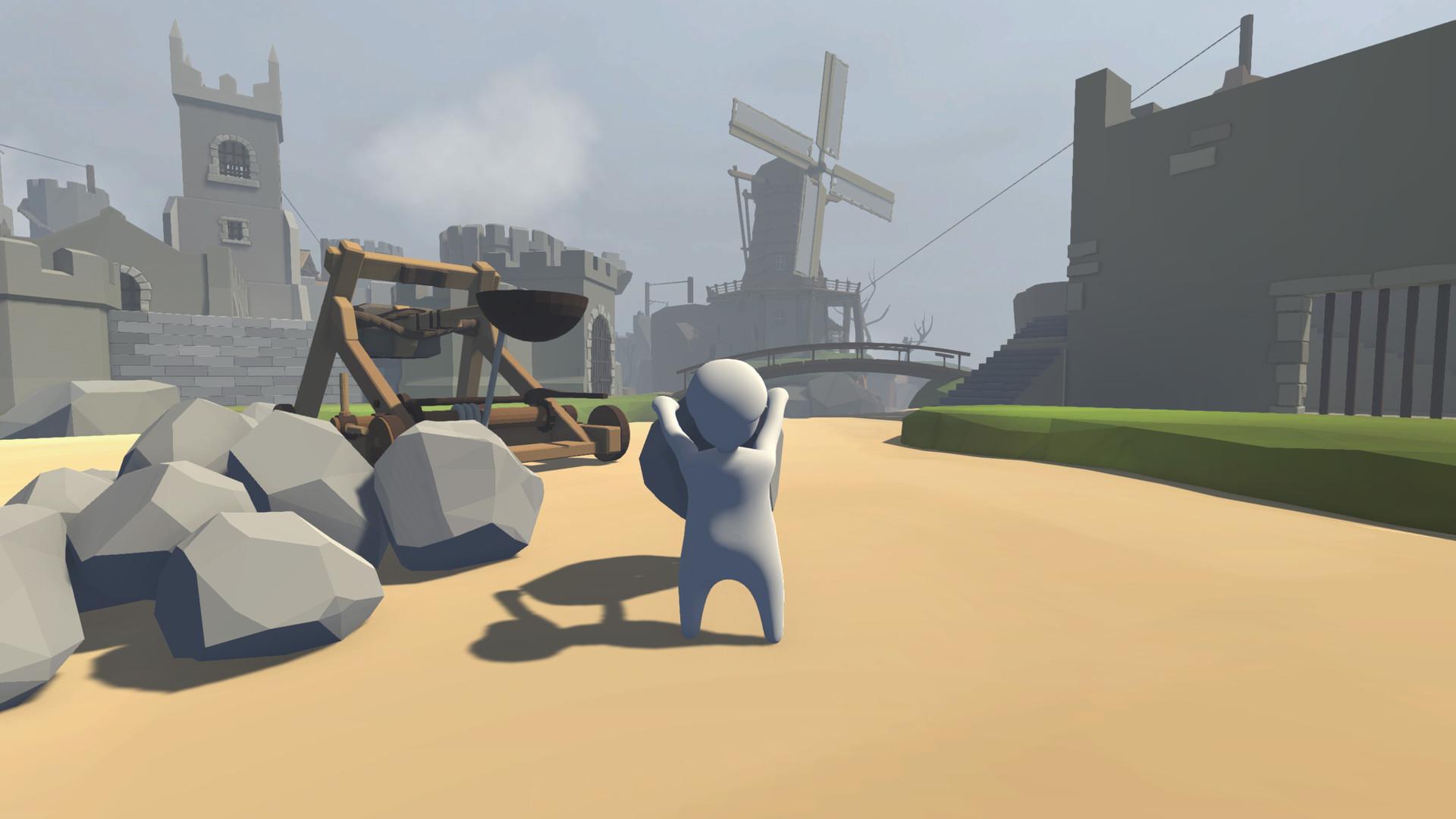 بازی human fall flat (آموزش نصب و لینک های دانلود)