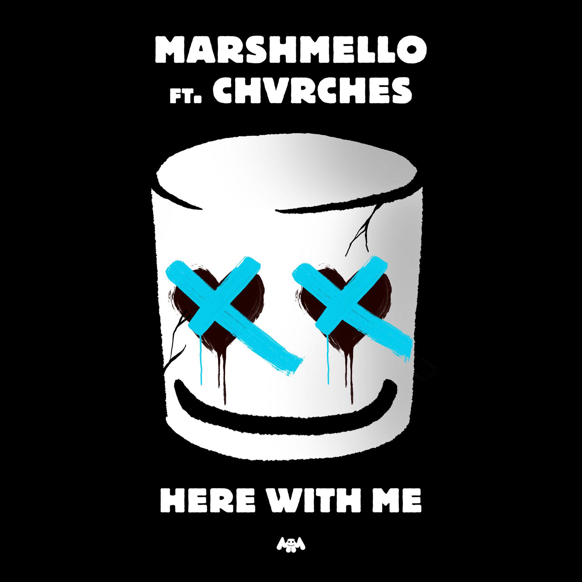 دانلود آهنگ Here With Me از مارشملو و CHVRCHES با کیفیت عالی + متن