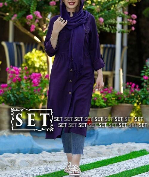 مدل مانتو اسپرت دخترانه بلند