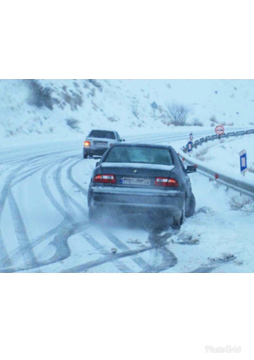 جلوگیری از سرخوردن اتومبیل در روزهای برفی