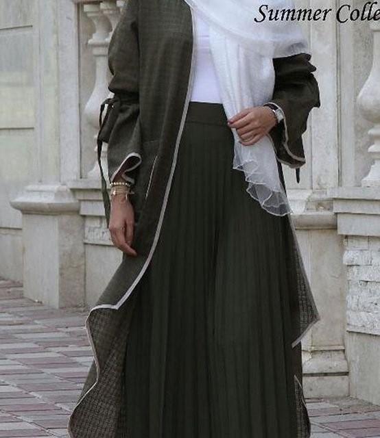 مدل مانتو  دامن بلند عید