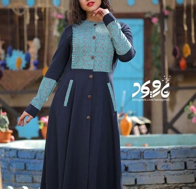 مدل مانتو طرح سنتی ایرانی