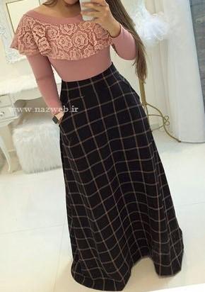 مدل دامن بلند شیک و زیبا جدید