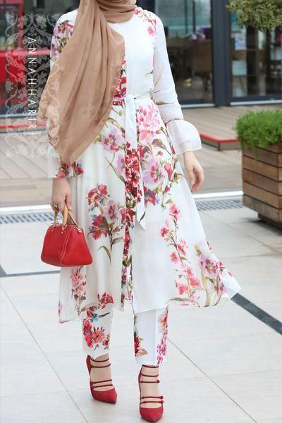 مدل مانتو گل گلی بلند