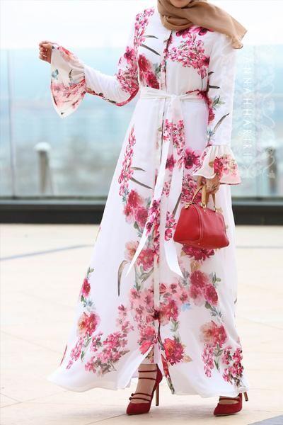 مدل مانتو گل گلی بهاری 98