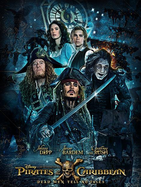 دانلود دوبله فارسی فیلم دزدان دریایی کارائیب 5