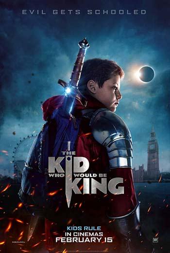 دانلود فیلم کودکی که پادشاه خواهد شد The Kid Who Would Be King 2019