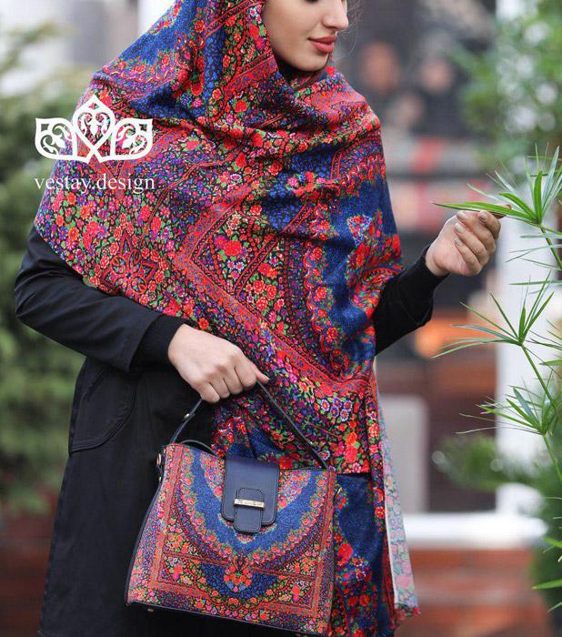 روسری طرح سنتی سال جدید 98 ,