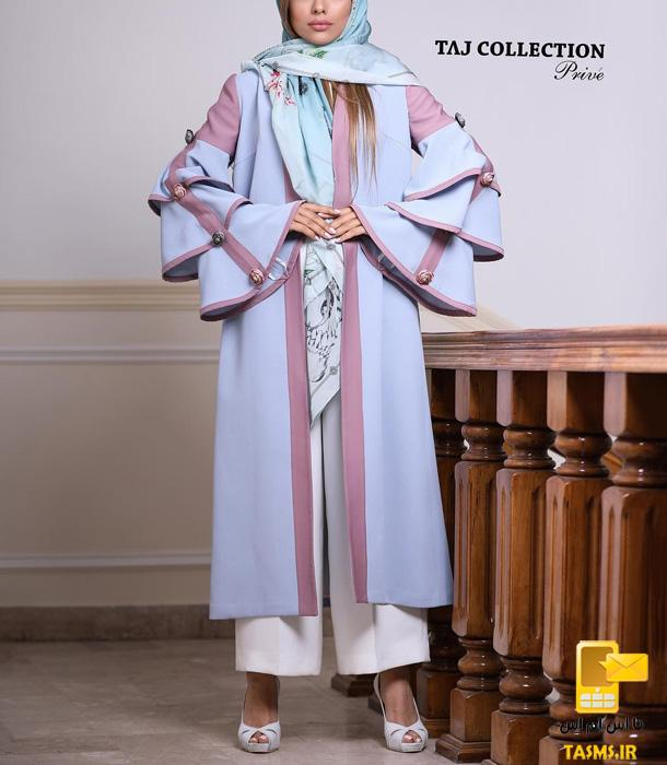 مدل مانتو مجلسی شیک جدید دخترانه و بهاری 98