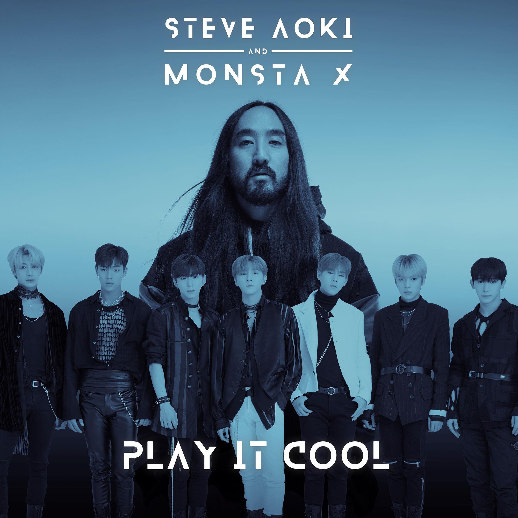 دانلود آهنگ Play It Cool از Monsta X و Steve Aoki با کیفیت 320 + متن
