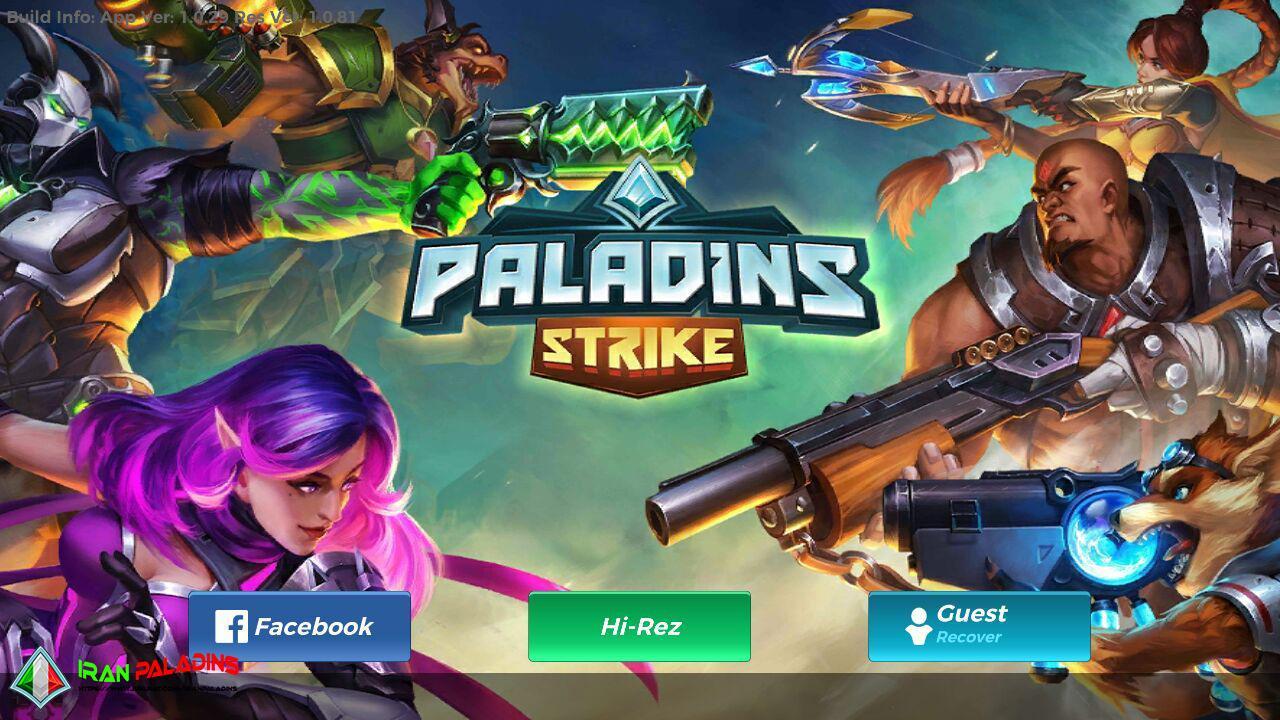 دانلود بازی پالادینز اندروید - paladins strike