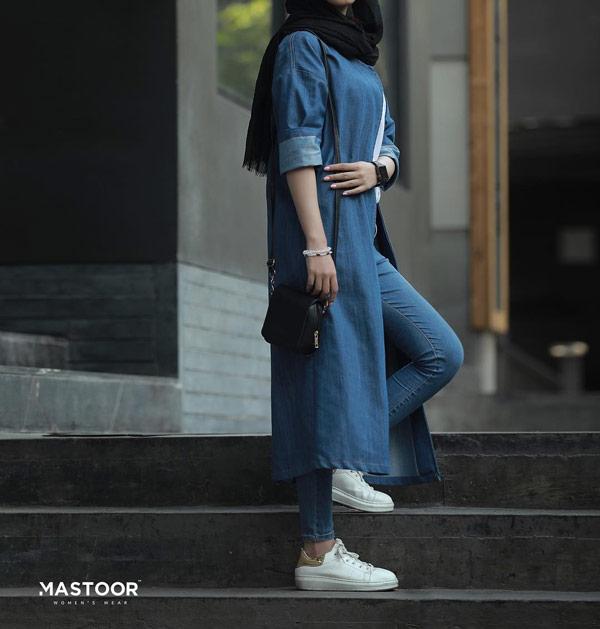 مدل مانتو اسپرت جدید جین