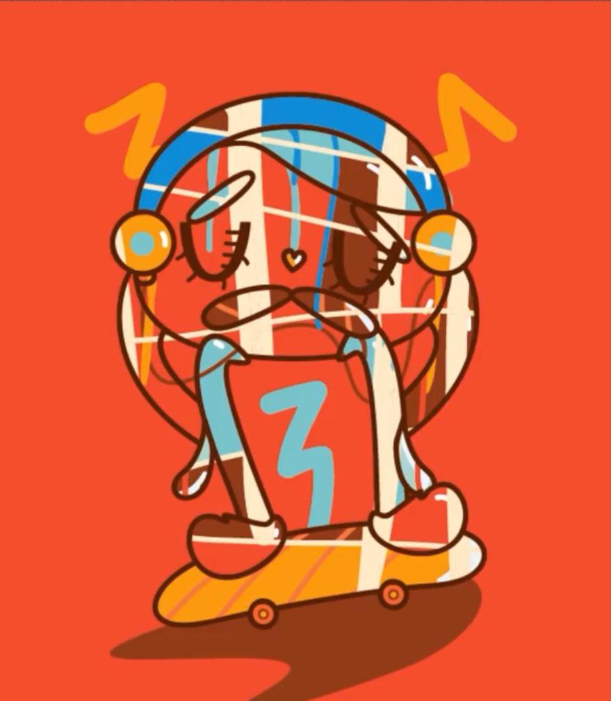 آموزش ساخت شخصیت کارتونی در نرم افزار ایلستریتور Illustrator