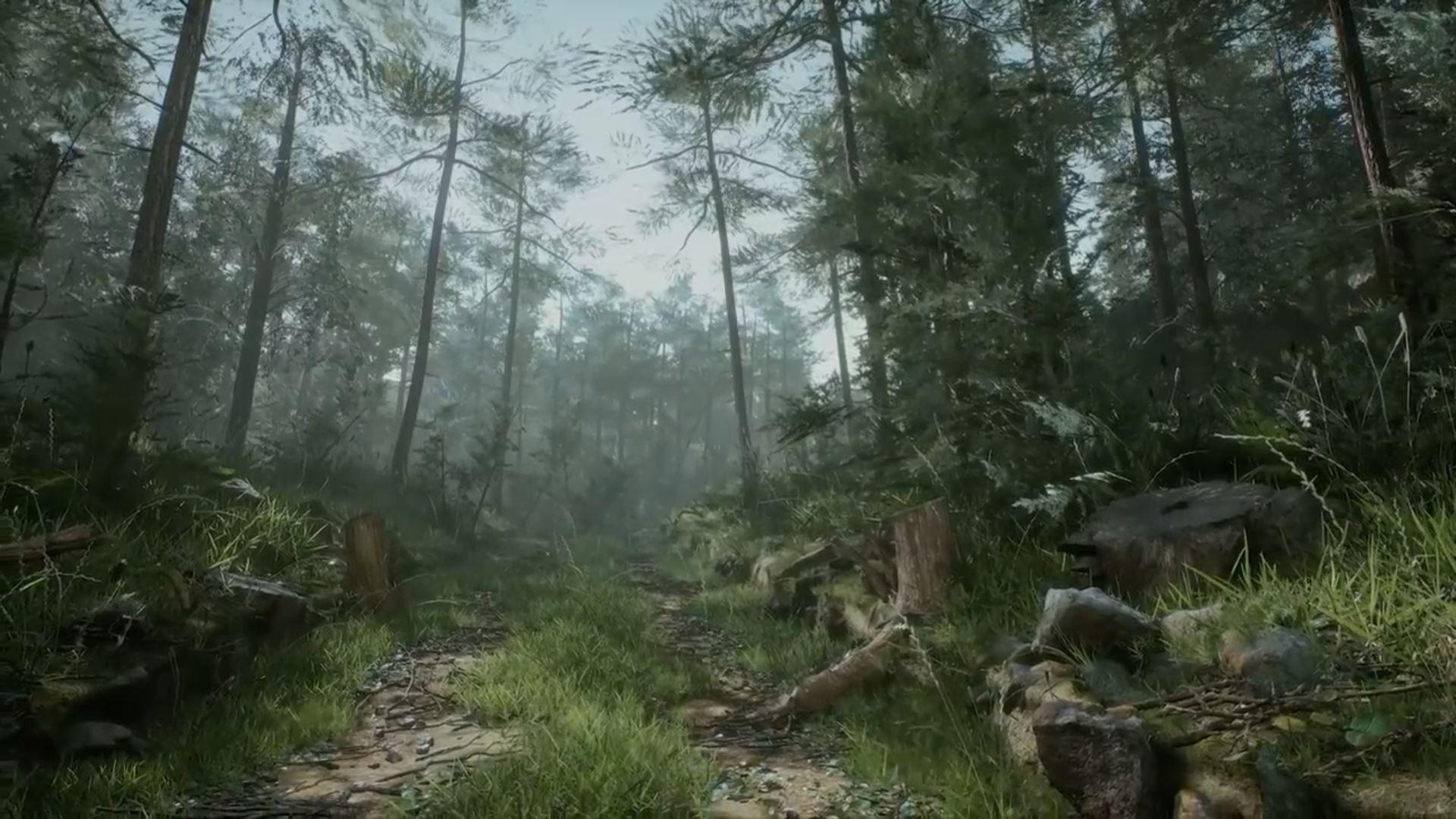 آموزش لول دیزاین جنگل در نرم افزار آنریل انجین unrealengine