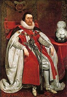 جیمز پادشاه انگلستان