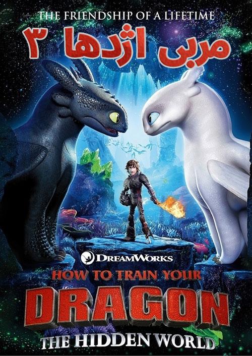 دانلود انیمیشن مربی اژدها ۳ دوبله How to Train Your Dragon 3 2019