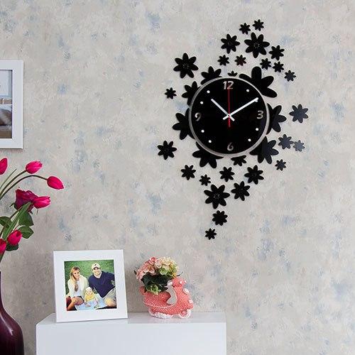 خرید ساعت دیواری طرح گلها