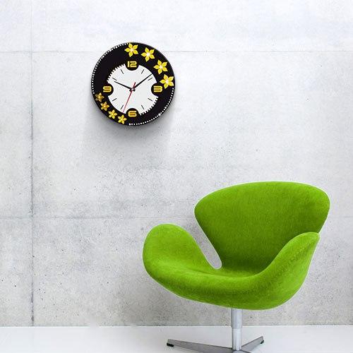 خرید ساعت دیواری طرح الماس