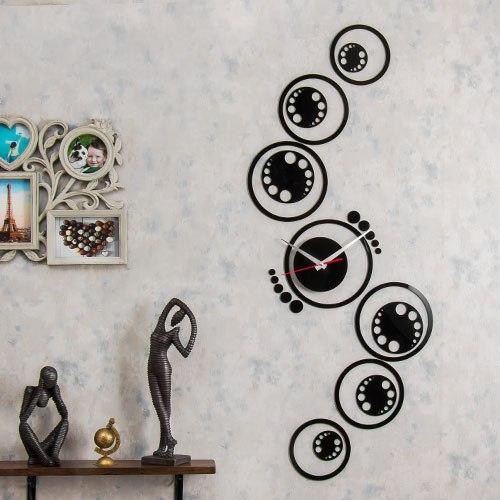 خرید ساعت دیواری طرح نارسیس
