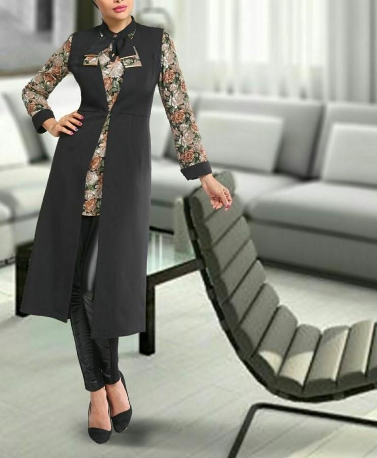 مدل مانتو سارافان تابستانی