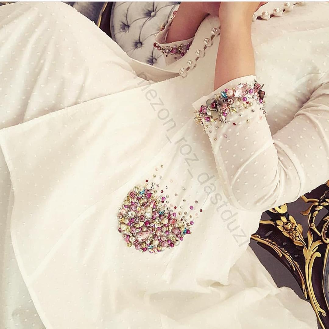 مدل مانتو اسپرت عروس