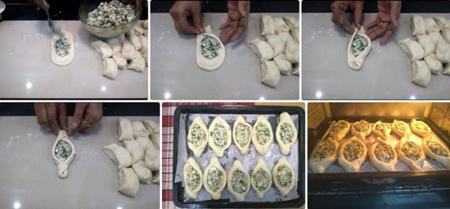 آموزش درست کردن خمیر فطایر پنیری,تکنیک های درست کردن فطایر پنیری