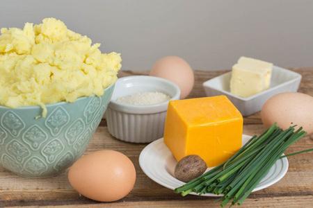 کاپ سیب زمینی پنیری,آموزش درست کردن کاپ سیب زمینی پنیری