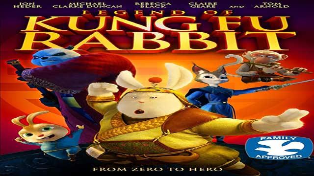 انیمیشن افسانه خرگوش کونگ فوکار-دوبله-Legend of Kung Fu Rabbit 2011