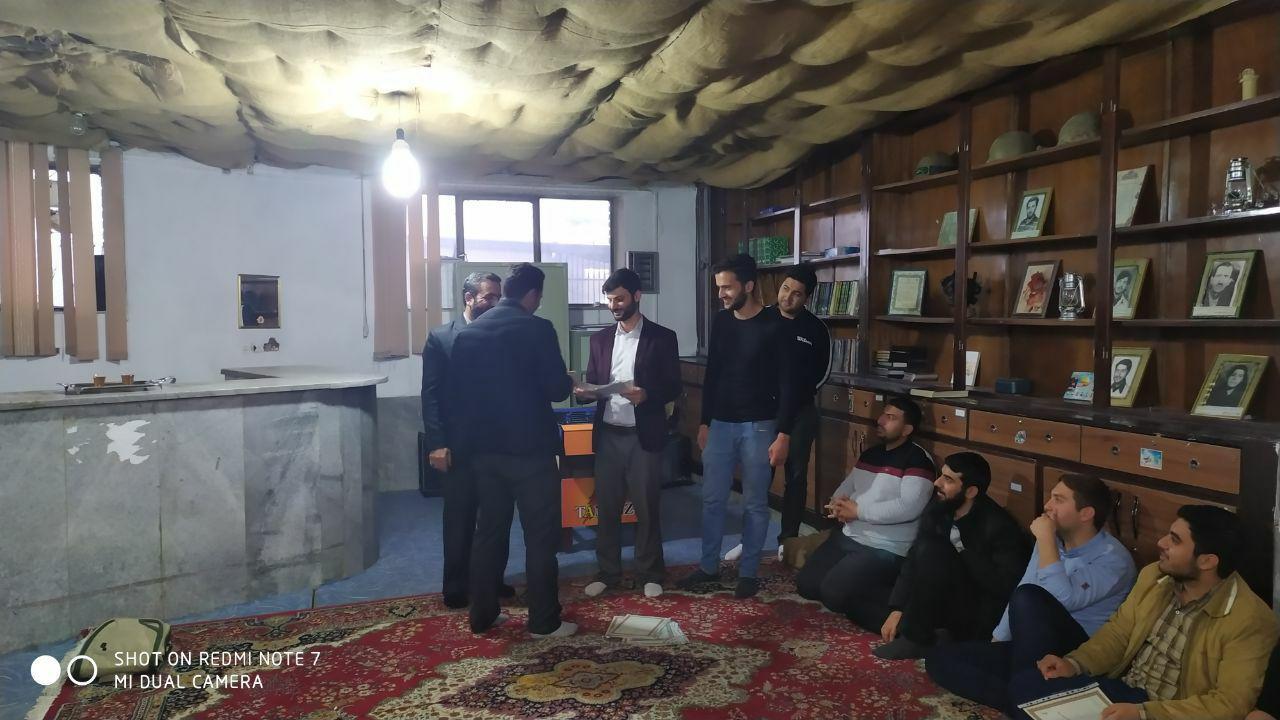معارفه مسئول جدید پایگاه مقاومت بسیج شهید خاکپور