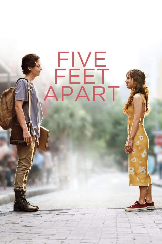دانلود فیلم Five Feet Apart 2019 با زیرنویس فارسی