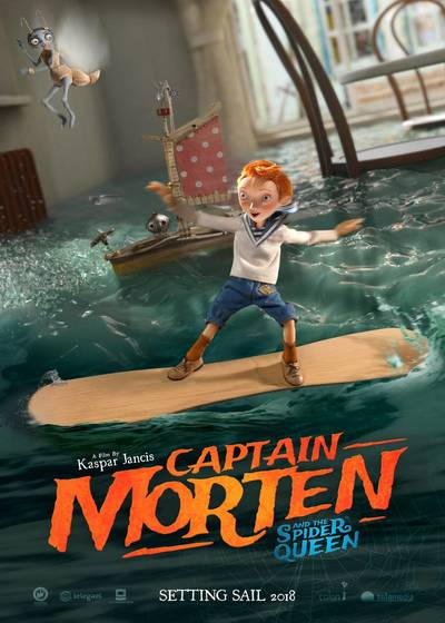 دانلود انیمیشنCaptain Morten And The Spider Queen 2018