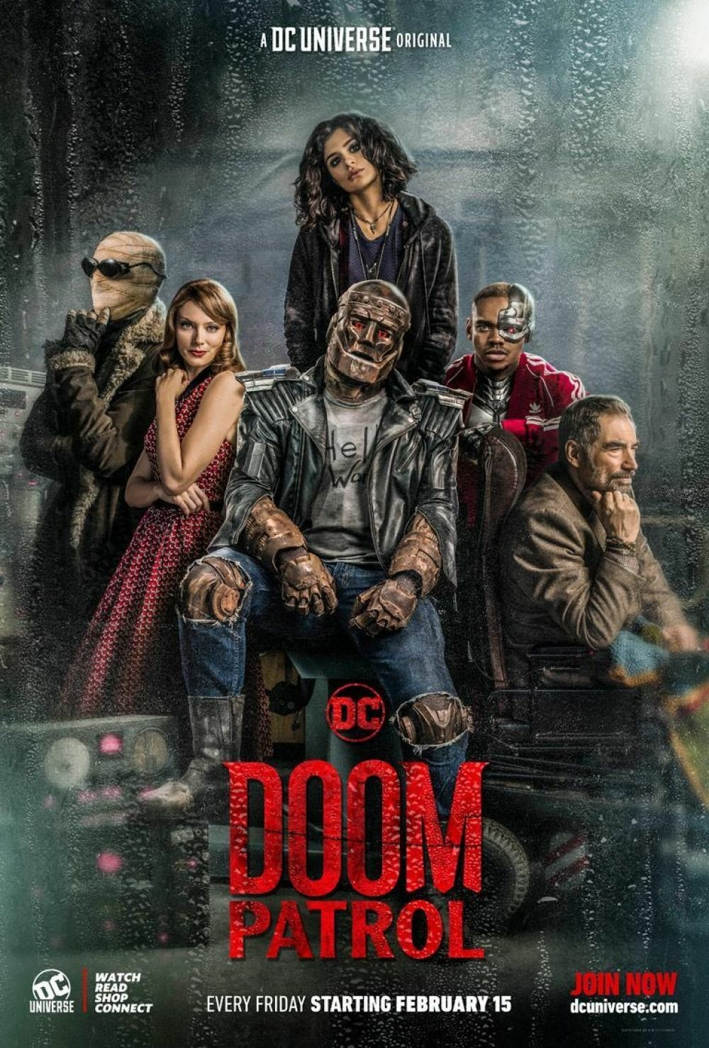 دانلود سریال Doom Patrol 2019