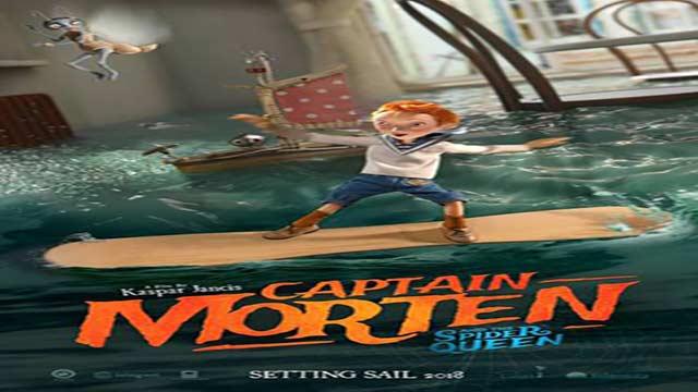 انیمیشن کاپیتان مورتن و ملکه عنکبوتی-دوبله-Captain Morten And The Spider Queen 2018