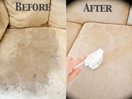 روش های تمیز کردن مبل