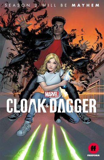 دانلود سریال  Cloak & Dagger 2018