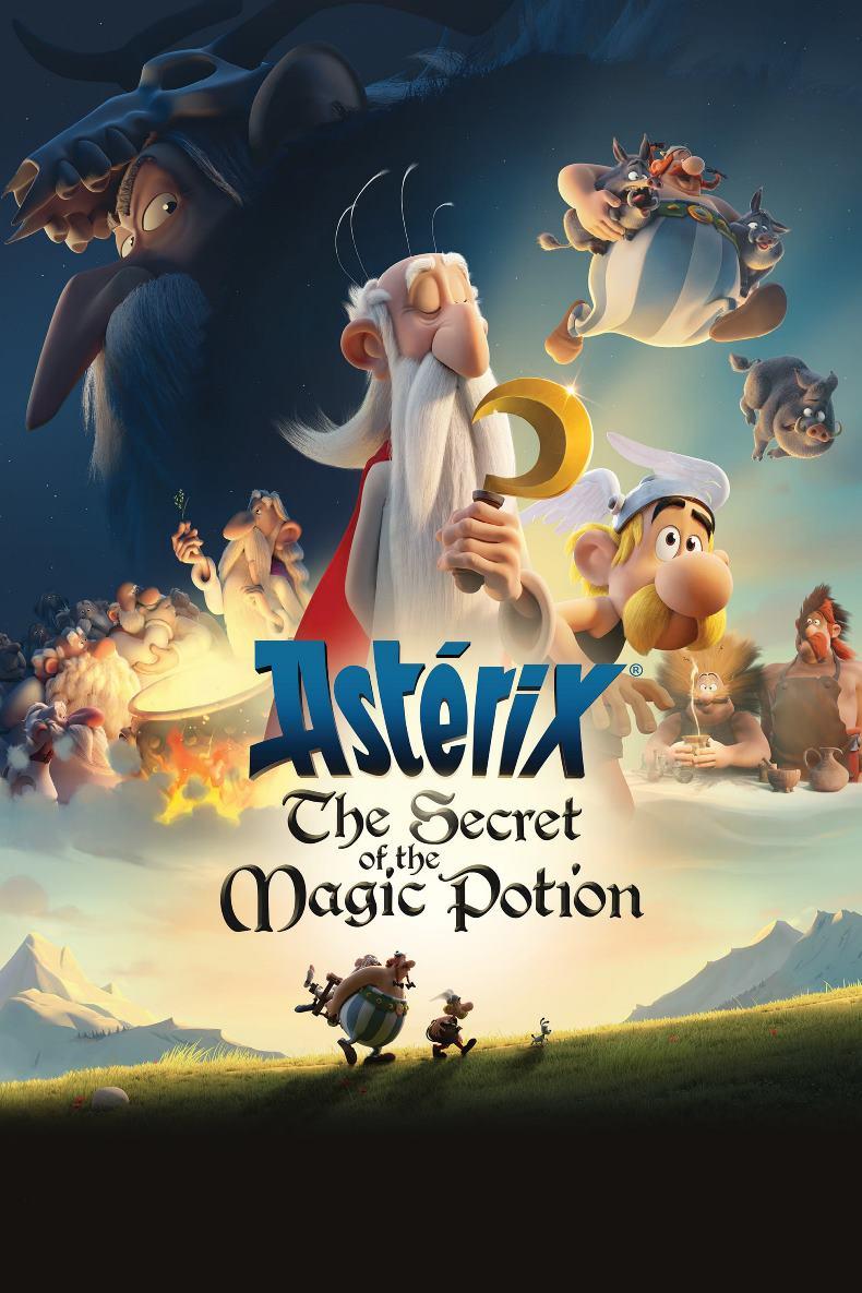 دانلود فیلم Asterix The Secret of the Magic Potion 2018 دوبله فارسی