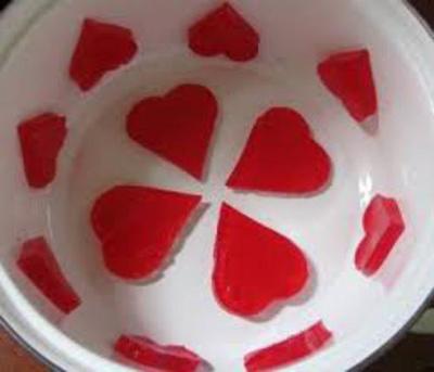 ژله قلبی,آموزش درست کردن ژله قلبی