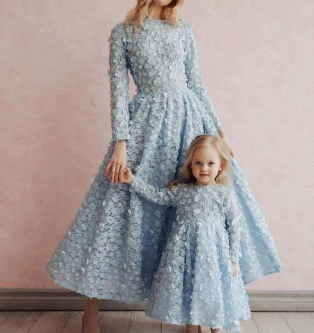 لباس مجلسی مادر و دختر, ست مجلسی مادر و دختری