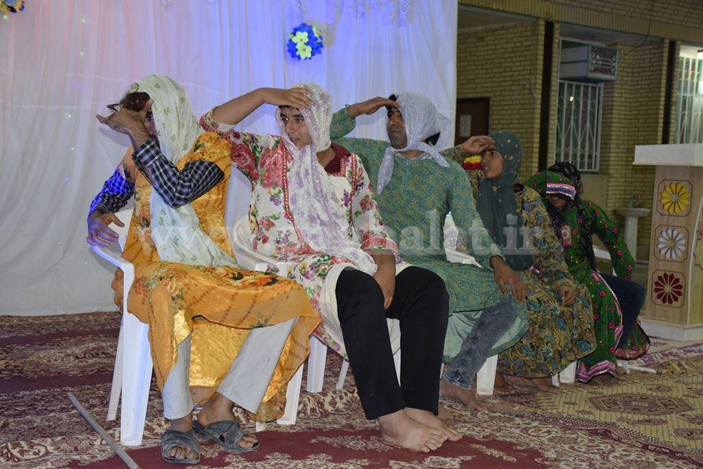 جشن میلاد امام زمان (عج) در پاقلات
