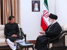 دیدار نخستوزیر پاکستان با رهبر انقلاب