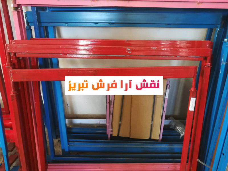 عکس دار تابلو فرش , دار قالی , بزرگترین شرکت تولیدی نخ و نقشه تابلوفرش تبریز , کیفیت درجه نخ و نقشه با نخ مرینوس