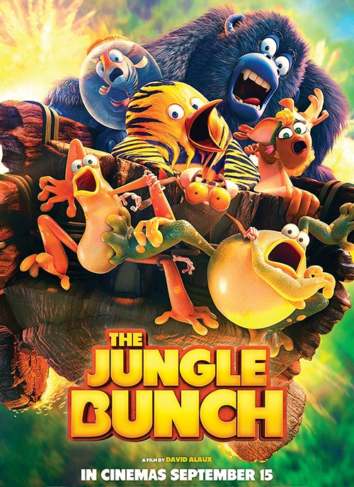 دانلود دوبله فارسی انیمیشن پنگوئن ببری The Jungle Bunch 2017