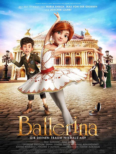 دانلود دوبله فارسی انیمیشن پرنسس رویاها Ballerina 2016