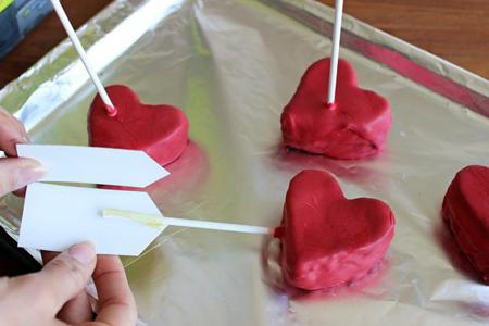 کیک متفاوت ولنتاین, آموزش تصویری پخت کیک