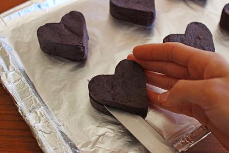 آموزش نحوه درست کردن کیک قلبی,کیک های ویژه ولنتاین