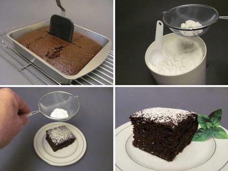 تهیه کیک شکلاتی بدون شیر و تخم مرغ,آموزش درست کردن کیک شکلاتی بدون شیر و تخم مرغ