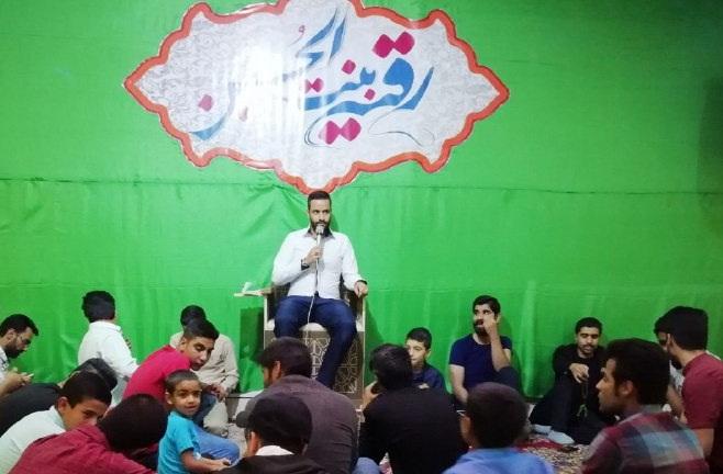 دانلود عکس و والپیپر HD | کربلایی هادی گلستانی جشن ولادت حضرت رقیه(س) 1398