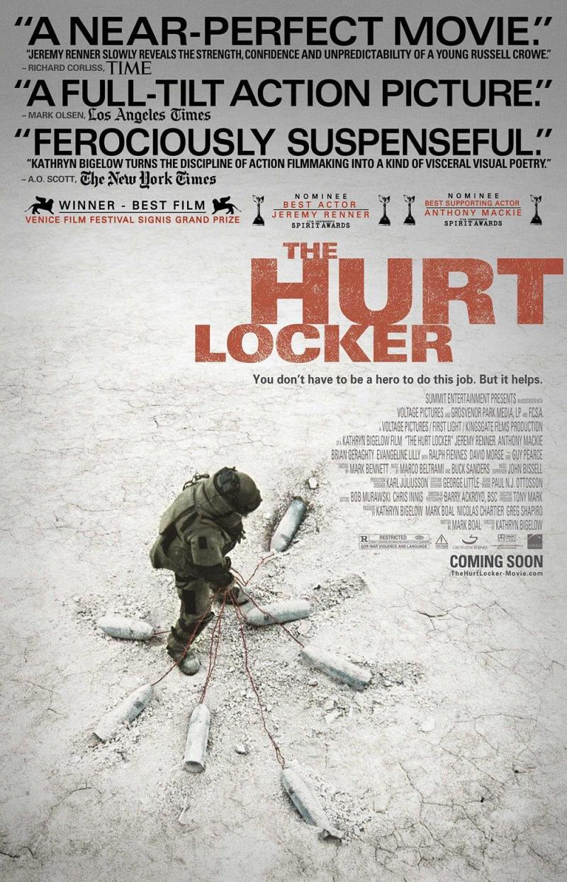 دانلود فیلم The Hurt Locker 2008 دوبله فارسی