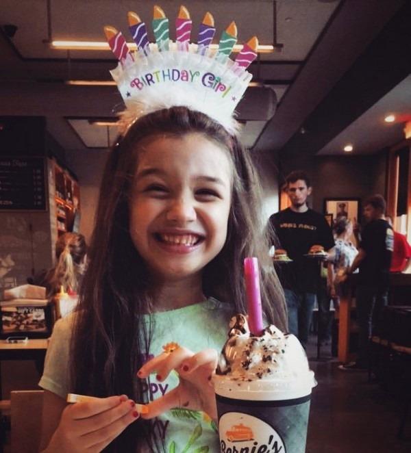جشن تولد ۸ سالگی بارانا بهادری